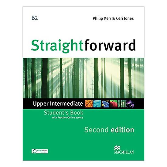 Straightforward (2 Ed.) Upper-Inter: Student Book With Webcode