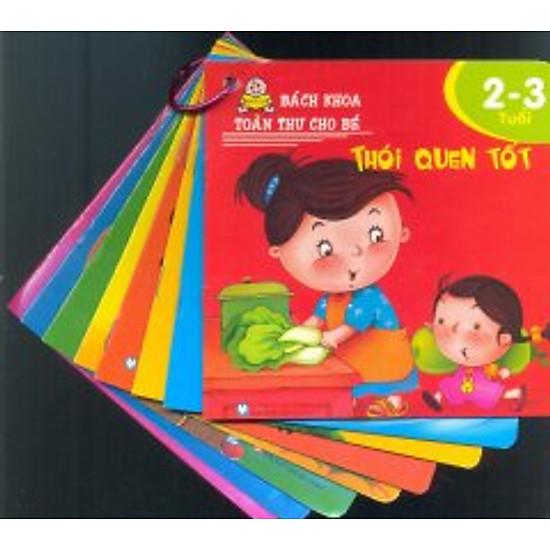 [Download Sách] Bách Khoa Toàn Thư Cho Bé 2 - 3 Tuổi (Trọn Bộ 8 Cuốn)