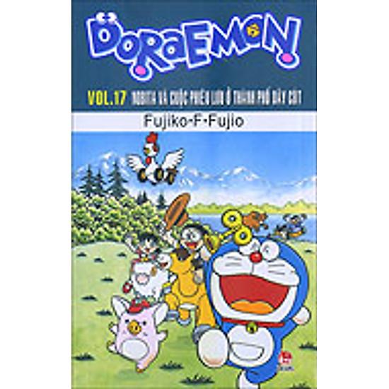Doraemon - Truyện Dài - Tập 17 - Nobita Phiêu Lưu Ở Thành Phố Dây Cót (2014)
