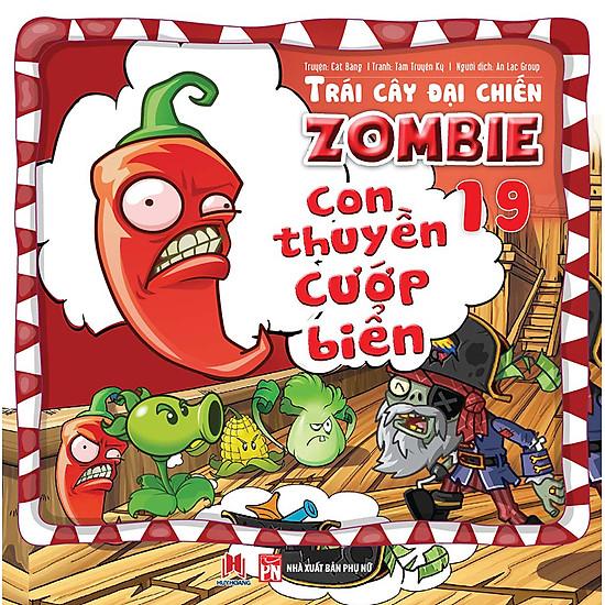 Trái Cây Đại Chiến Zombie (Tập 19) – Con Thuyền Cướp Biển