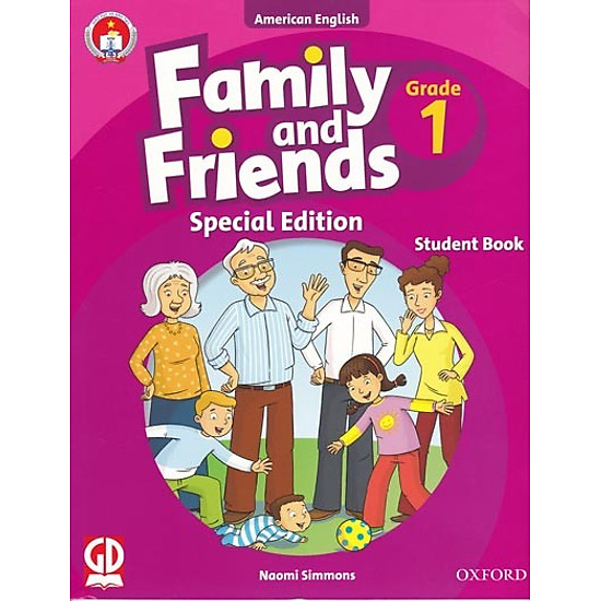 Family And Friends (Ame. Engligh) (Special Ed.) Grade 1: Student Book With CD