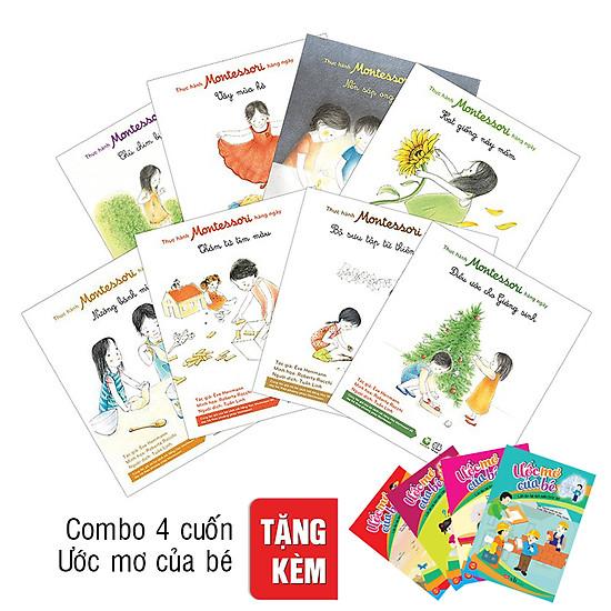 [Download Sách] Combo Thực Hành Montessori Hàng Ngày (Tặng Combo Ước Mơ Của Bé)