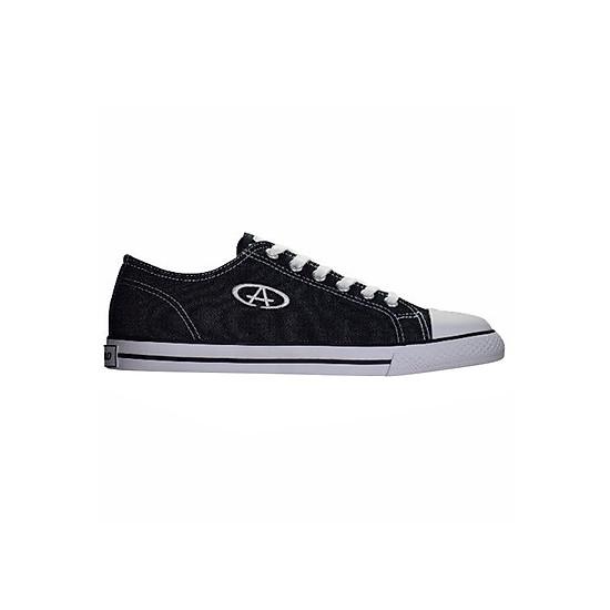 Giày Sneaker Nam Cổ Thấp Codad Canvas - Đen