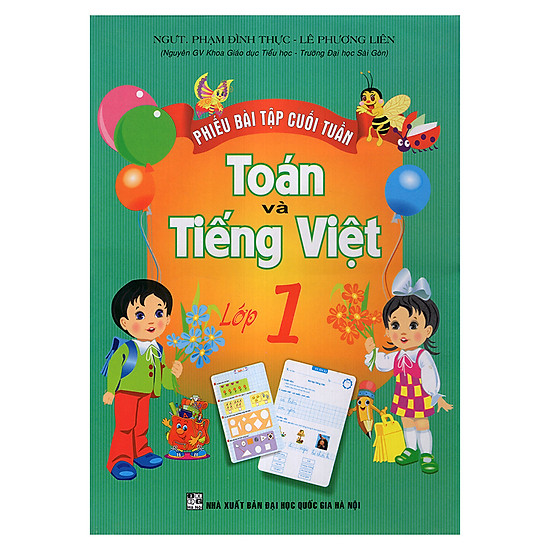 Phiếu Bài Tập Cuối Tuần Toán Và Tiếng Việt 1