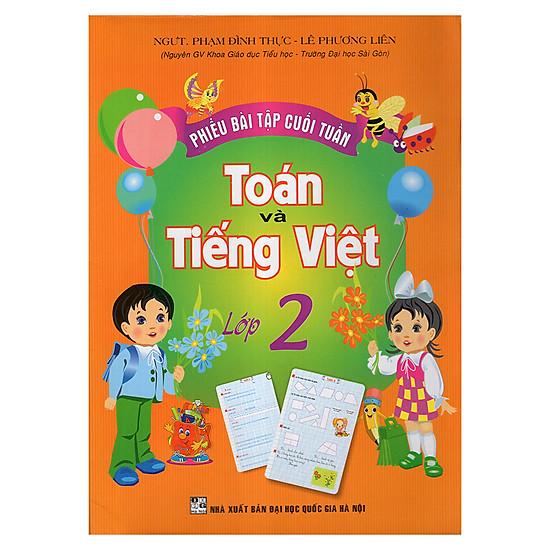 Phiếu Bài Tập Cuối Tuần Toán Và Tiếng Việt 2