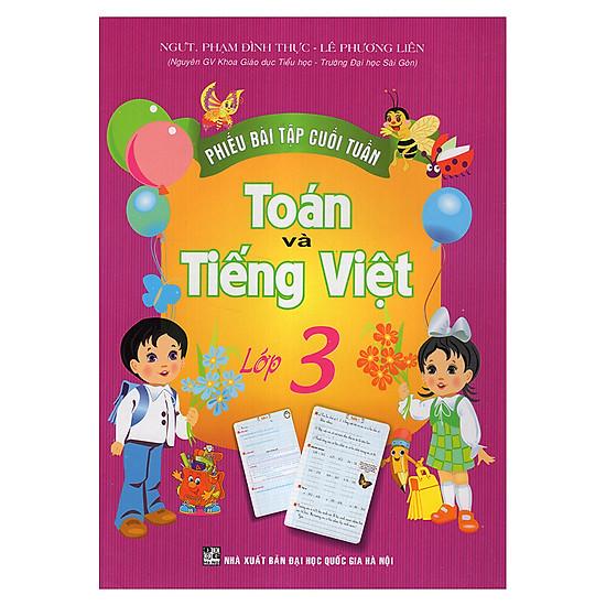 Phiếu Bài Tập Cuối Tuần Toán Và Tiếng Việt 3