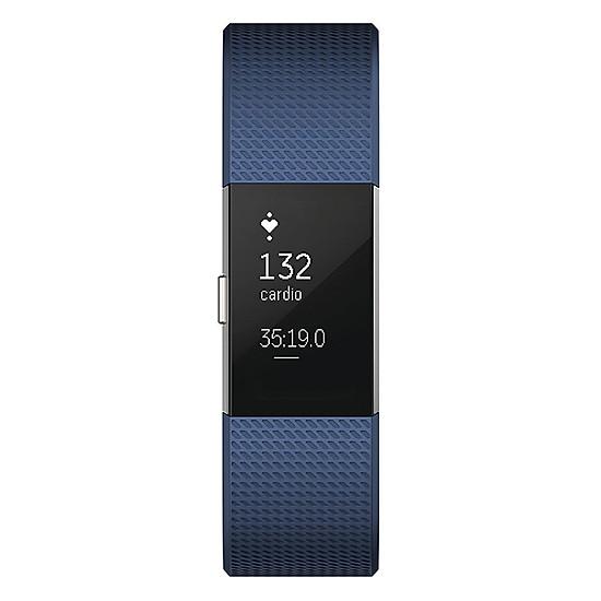 Đồng Hồ Thông Minh Fitbit Charge 2 (Size Small) - Xanh - Hàng Nhập Khẩ...