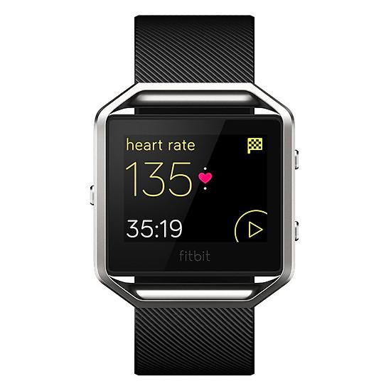 Đồng Hồ Thông Minh Fitbit Blaze (Size Small) - Black Silver - Hàng Nhậ...