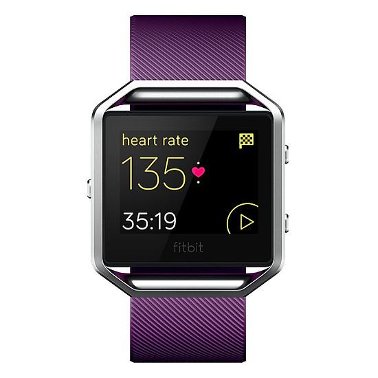 Đồng Hồ Thông Minh Fitbit Blaze (Size Small) - Plum Silver - Hàng Nhập...