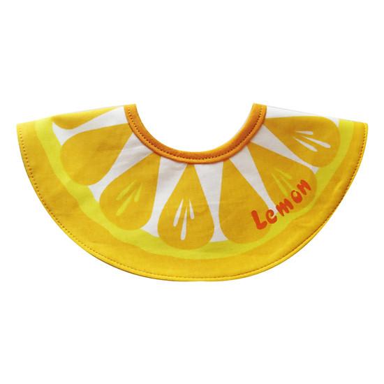 Yếm Ăn Họa Tiết Trái Chanh Cuckeo Kids TK101718