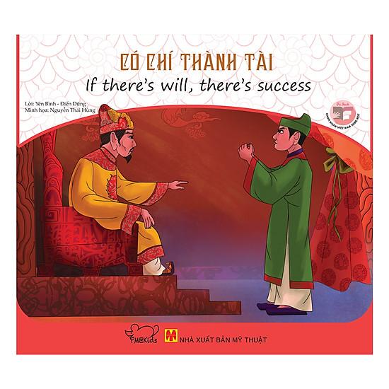 [Download Sách] Danh Nhân Việt Nam - Có Chí Thành Tài (Song Ngữ)