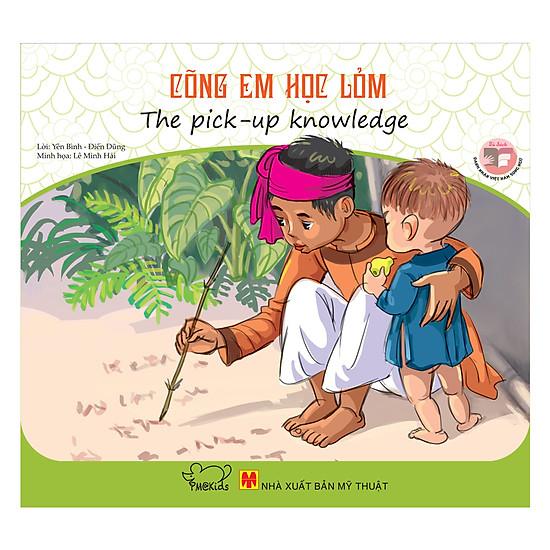 [Download Sách] Danh Nhân Việt Nam - Cõng Em Học Lỏm (Song Ngữ)