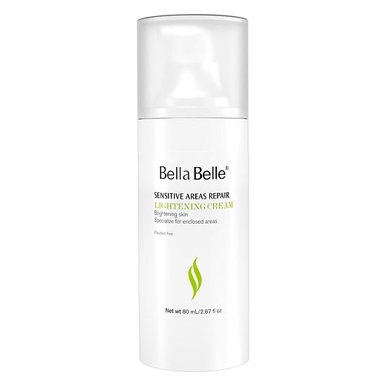 Đánh giá Combo 2 Kem Làm Trắng Vùng Nách Bẹn Bella Belle Areas Repair Lightening Cream (80ml / Chai) Tại Mỹ Phẩm Hana