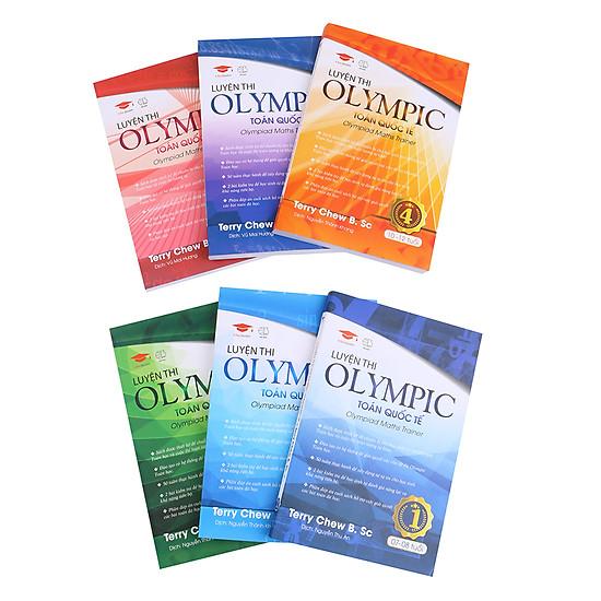 Combo Luyện Thi Olympic Toán Quốc Tế (6 Cuốn)