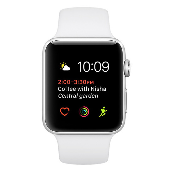 Đồng Hồ Thông Minh Apple Watch Sport 42mm Series 2 MNPJ2 (White Sport ...