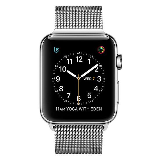 Đồng Hồ Thông Minh Apple Watch Stainless Steel Series 2 - 42mm MNPU2 S...