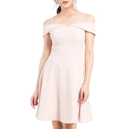 Váy Xòe Quây Hai Dây Gracy Design VXQHD0002 - Hồng