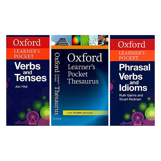 Oxford Learner's Pocket - Better Together Set 5: Phrasal Verbs And Idioms, Thesaurus, Verbs And Tenses