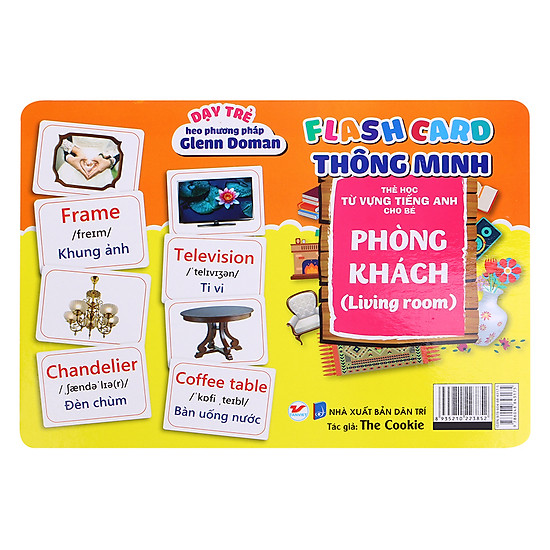 [Download sách] Flash Card Thông Minh - Phòng Khách