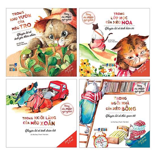 Combo Những Chú Mèo Ngộ Nghĩnh (Trọn Bộ 4 Tập)