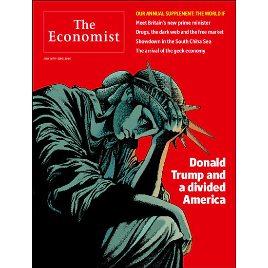 The Economist: Donald Trump And A Divided America - 29