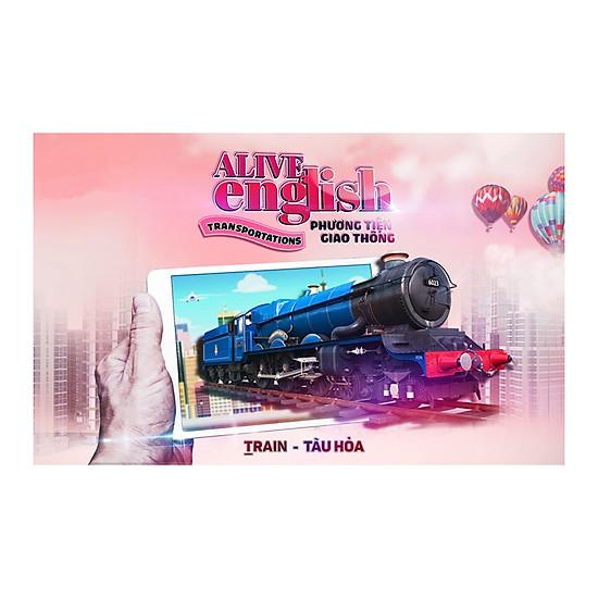 [Download sách] Sách 3D Alive English - Transportations