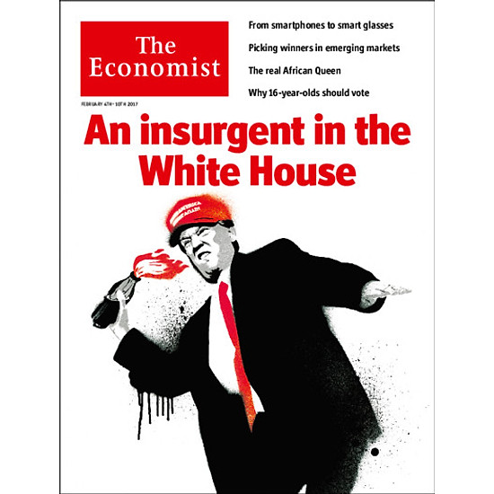 The Economist: An Insurgent In The White House – 57