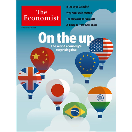 [Download sách] The Economist: On the up - The world economy's surprising rise