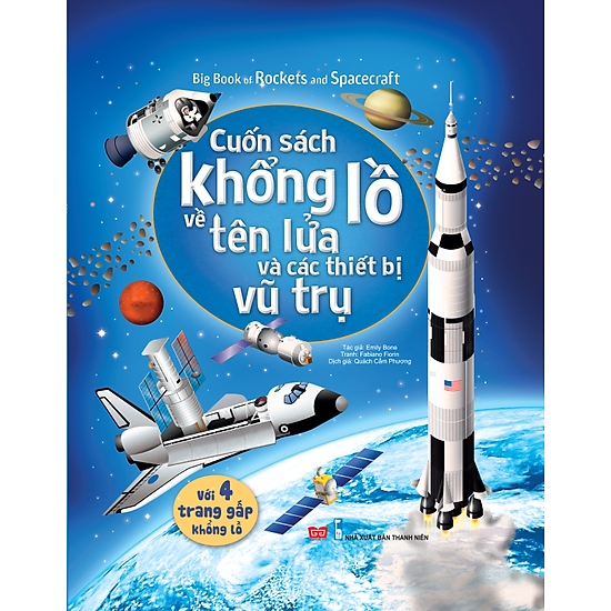 Big Book Of Rockets And Spacecraft – Cuốn Sách Khổng Lồ Về Tên Lửa Và Các Thiết Bị Vũ Trụ