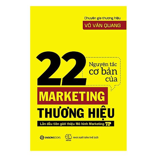 [Download Sách] 22 Nguyên Tắc Cơ Bản Của Marketing Thương Hiệu