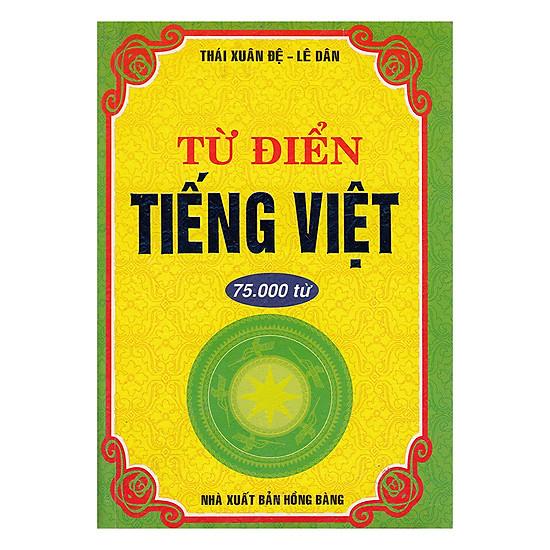 Từ Điển Tiếng Việt 75.000 Từ (Tái Bản)