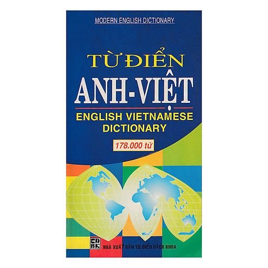 [Download Sách] Từ Điển Anh - Việt 178.000 Từ
