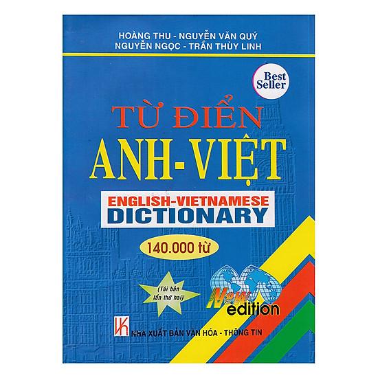 Từ Điển Anh - Việt 140.000 Từ