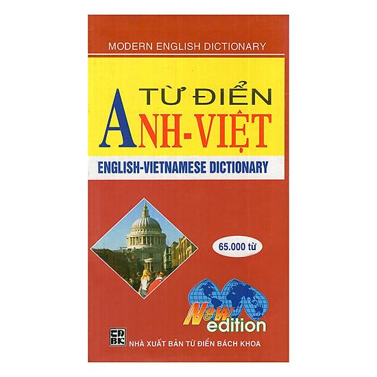 Từ Điển Anh - Việt 65.000 Từ
