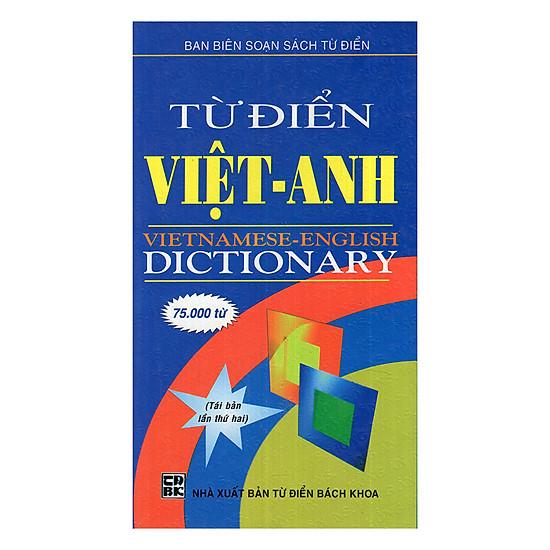 Từ Điển Việt - Anh 75000 Từ