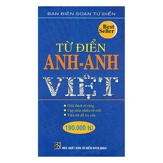 Từ Điển Anh - Anh - Việt 190.000 Từ