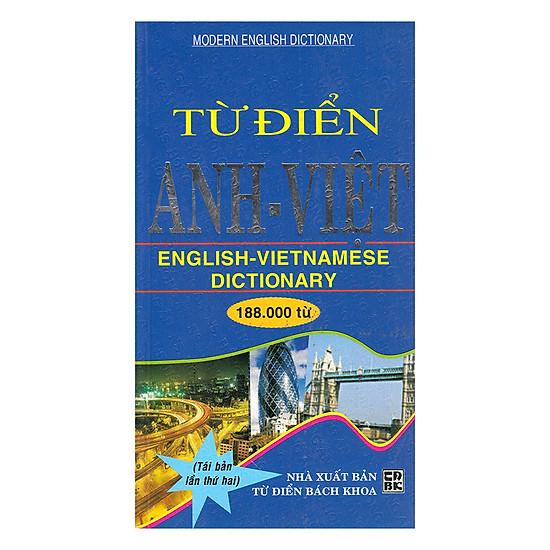Từ Điển Anh - Việt 188000 Từ