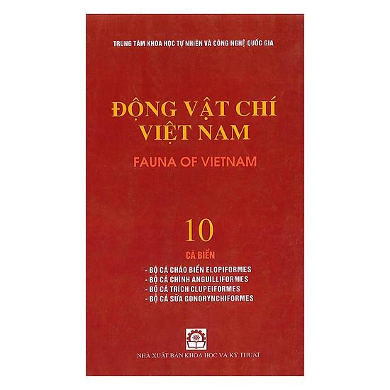 Động Vật Chí Việt Nam (Tập 10): Cá Biển