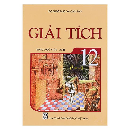 Sách Giải Tích Lớp 12 (Song Ngữ Việt - Anh)
