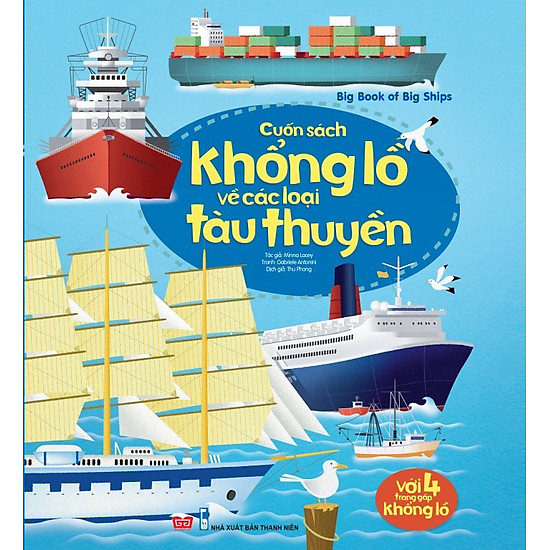 Big Book Of Big Ships – Cuốn Sách Khổng Lồ Về Các Loại Tàu Thuyền