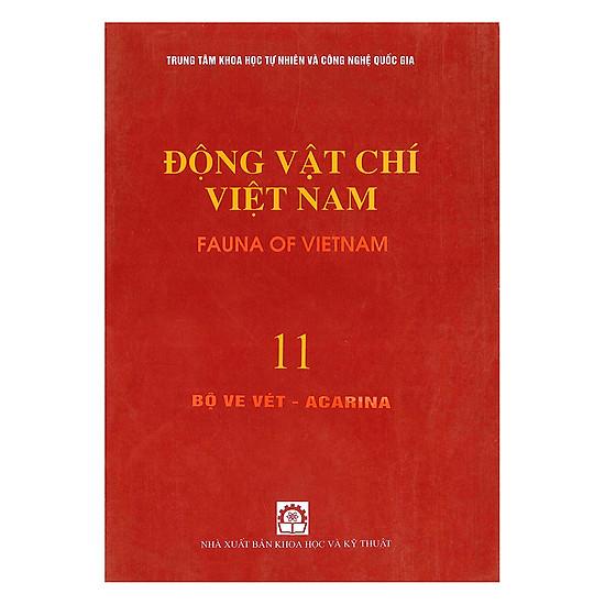 Động Vật Chí Việt Nam (Tập 11): Bộ Ve Vét