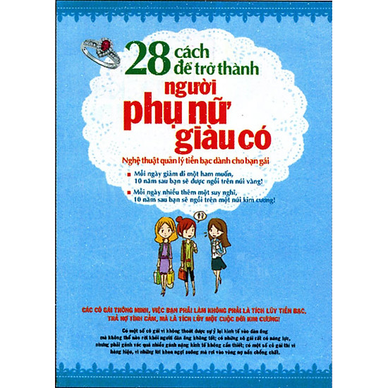 [Download sách] 28 Cách Để Trở Thành Người Phụ Nữ Giàu Có