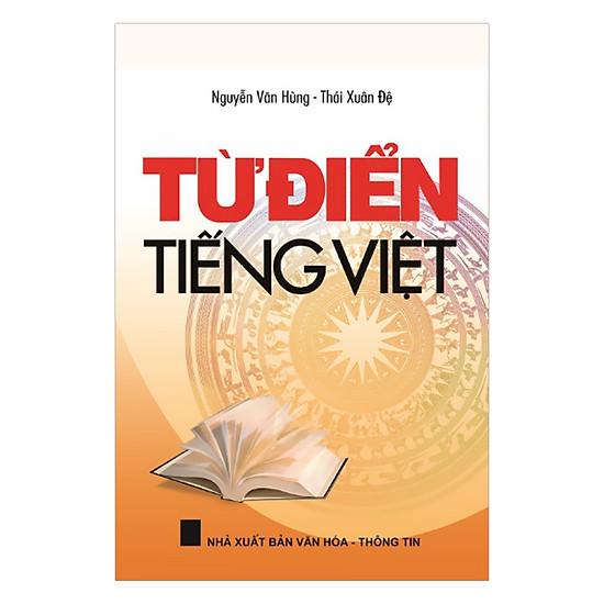Từ Điển Tiếng Việt - Bìa Da