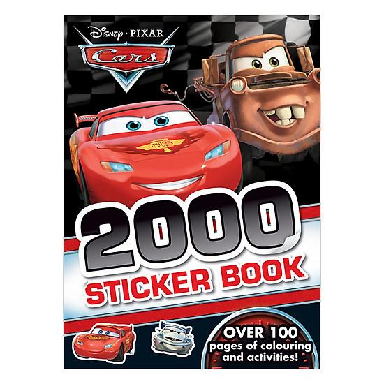 2000 Sticker Disney Pixar Cars