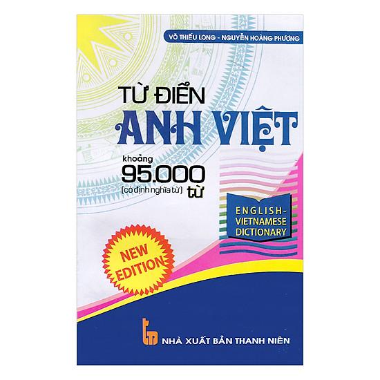 Từ Điển Anh Việt Khoảng 95.000 Từ