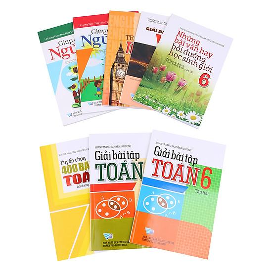 Combo Sách Tham Khảo Dành Cho Học Sinh Lớp 6 (Trọn Bộ 7 Cuốn) - Tặng Kèm Những Bài Văn Hay Bồi Dưỡng Học Sinh Giỏi Lớp 6