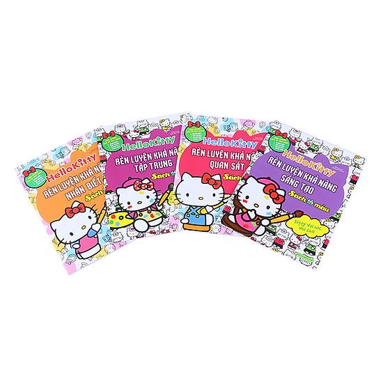 [Download Sách] Combo Hello Kitty - Rèn Luyện Các Khả Năng (Sách Tô Màu - Bộ 4 Quyển)