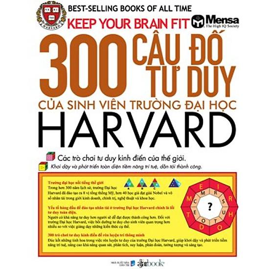 300 Câu Đố Tư Duy Của Sinh Viên Trường Đại Học Harvard
