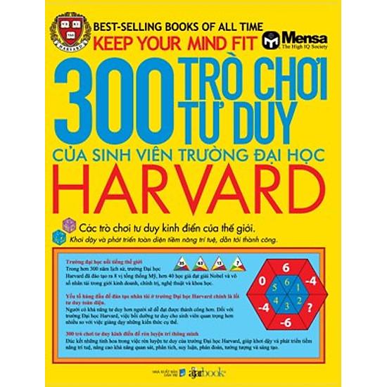 300 Trò Chơi Tư Duy Của Sinh Viên Trường Đại Học Harvard