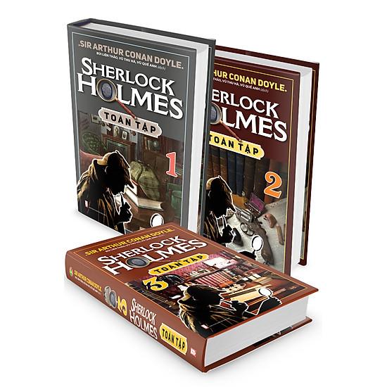 [Download Sách] Combo Sherlock Holmes Toàn Tập (Trọn Bộ 3 Tập)